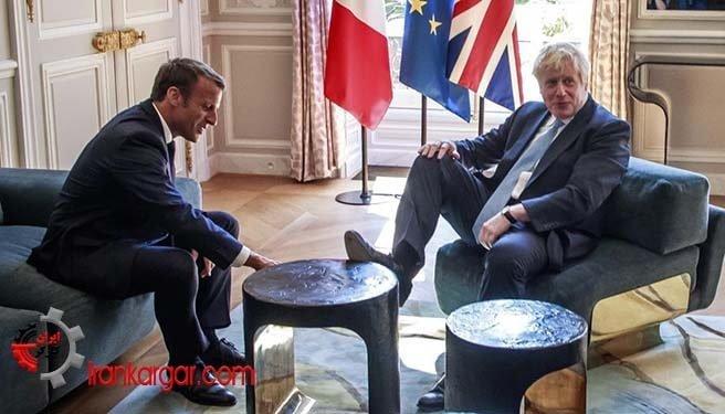 دیدار سران بریتانیا و فرانسه