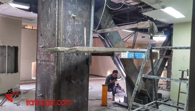 وضعیت بیمارستان زلزلهزدگان