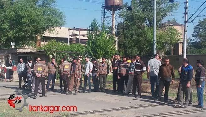 اعتراض و اعتصاب کارگران راهآهن ایران در شهرهای مختلف