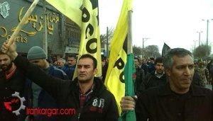 گسترش و تداوم تجمع اعتراضی و اعتصاب کارگران هپکو