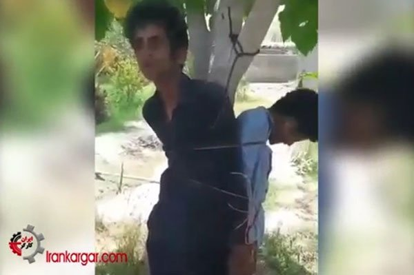 کتک زدن بیرحمانه دو کودک