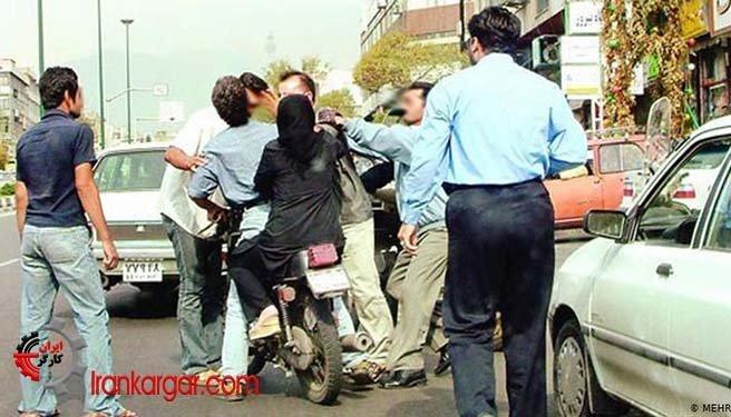 کتککاری در خیابانهای ایران