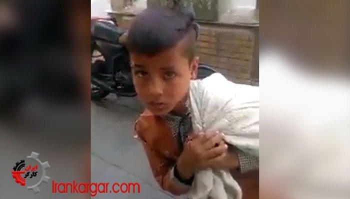 گفتگوی کوتاه با سه کودک کار در خیابان