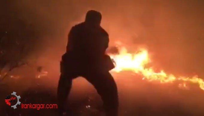 مهار آتشسوزی در جنگلهای سردشت