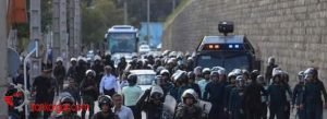 حمله نیروی ضربت به کارگران هپکو اراک