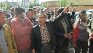 کارگران پتروشیمی فارابی خوزستان