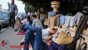وضعیت وخیم درآمد کارگران فصلی در تهران